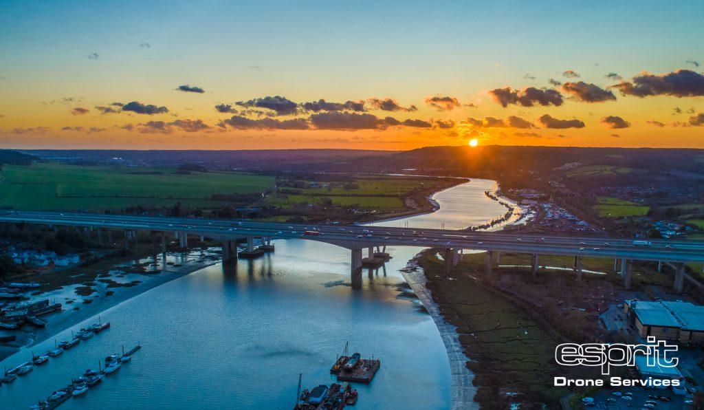 Medway M2 Motorway and Rail Bridges