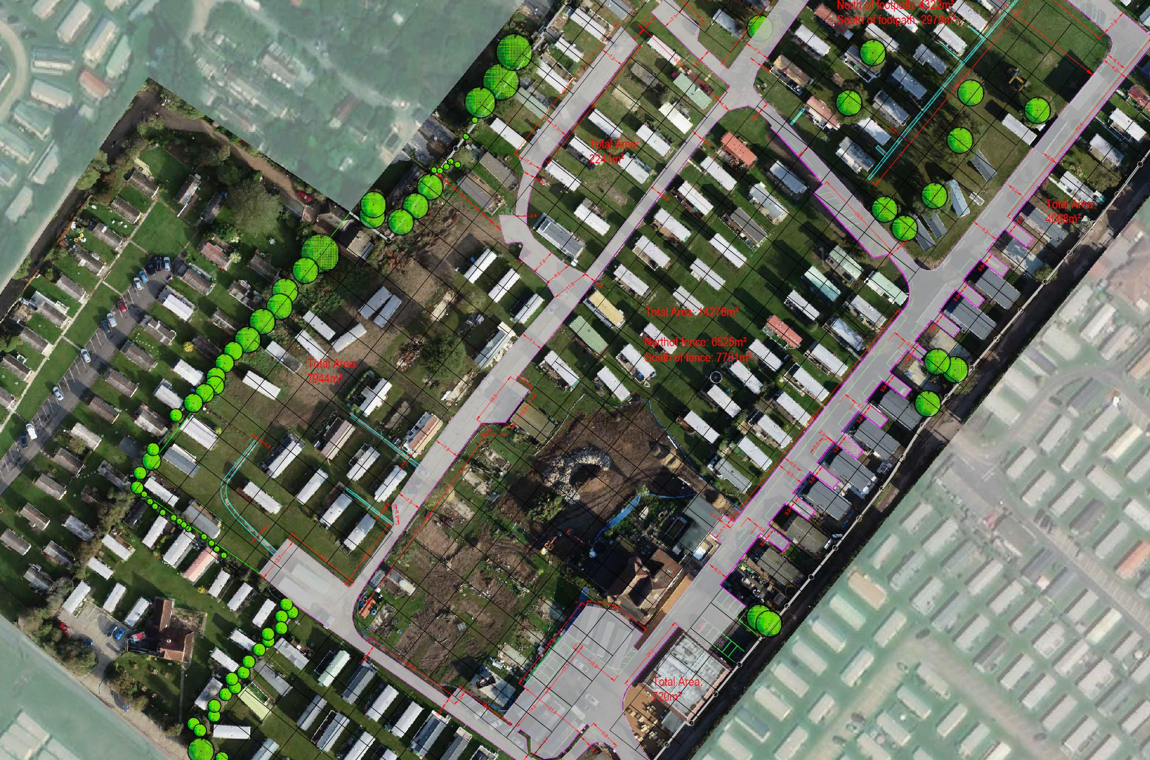 Caravan Park Drone Survey
